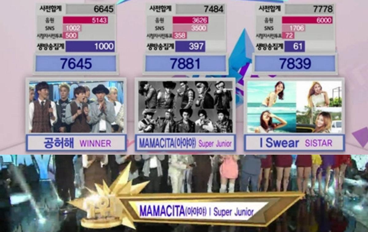 sbs inkigayo sept 21 soompi super junior