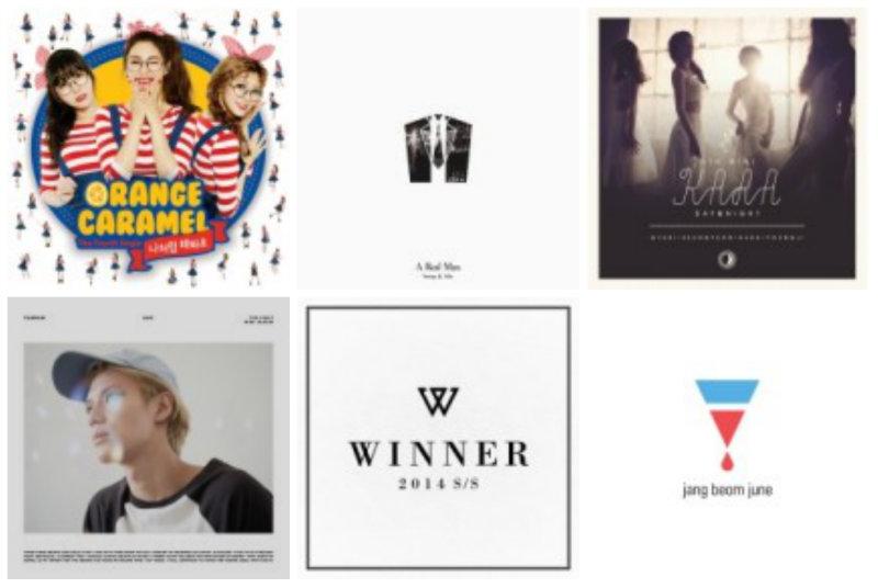 soompi Weekly K-Pop Music Chart 2014 – September Week 1