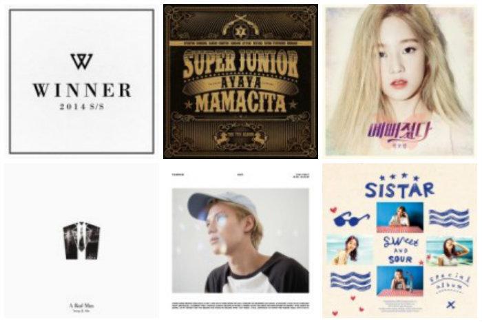 soompi Weekly K-Pop Music Chart 2014 – September Week 2