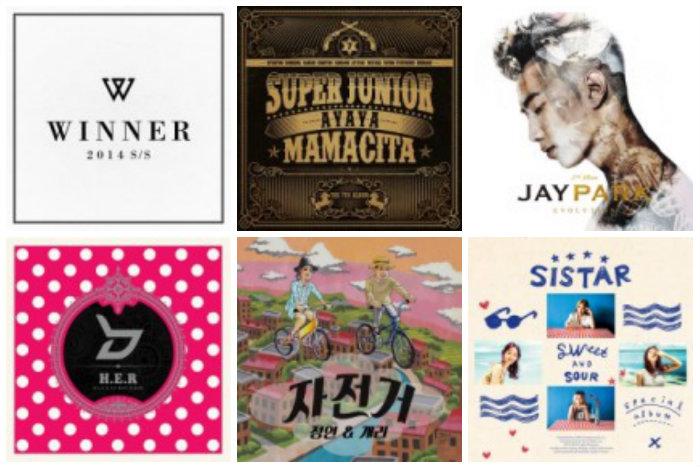 soompi Weekly K-Pop Music Chart 2014 – September Week 3