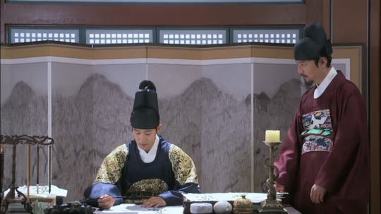 1 - Lee Sun meets with Chae Je Gong about provenance of arrow