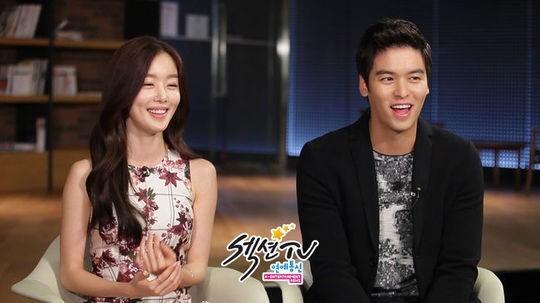1019 han sun hwa and lee jang woo section tv