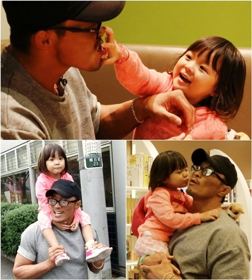 Chu Sung Hoon with Sarang