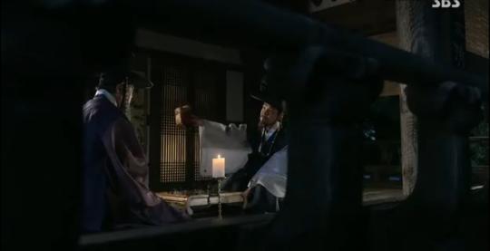 Ep 3 - 19 - The king threatens Park Moon Soo