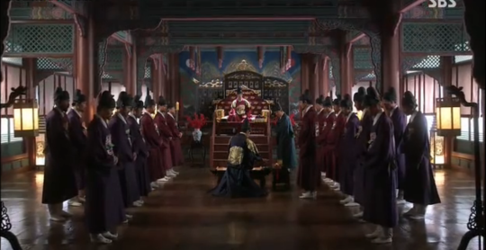 Ep 4 - 6c - Shin Heung Bok is pronounced a traitor - officially
