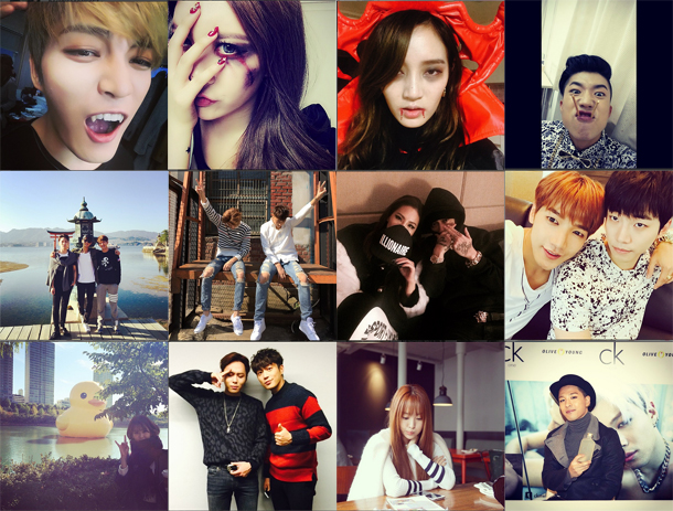 I Heart It: K-pop Instagram (October 26  – November 1)