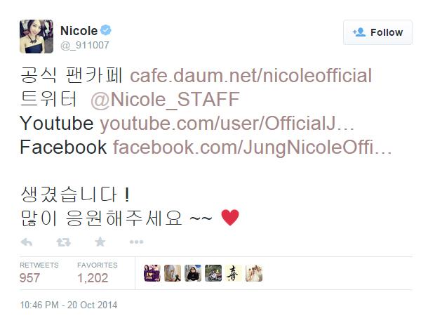 Nicole Twitter