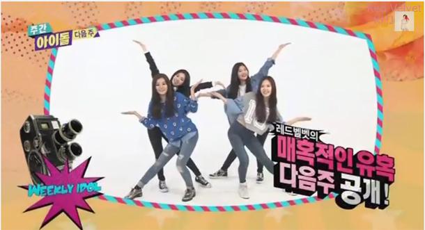Red Velvet, Weekly Idol
