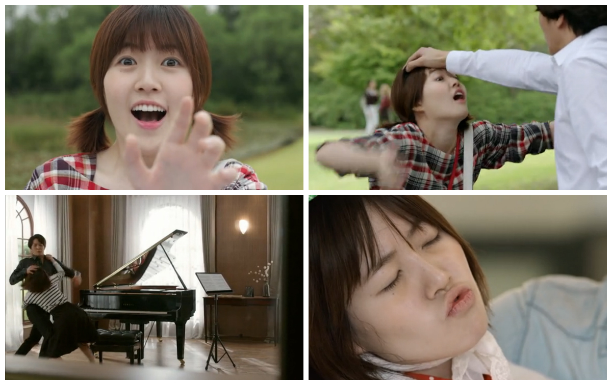 Nae Il tries to hug or kiss Yoo Jin