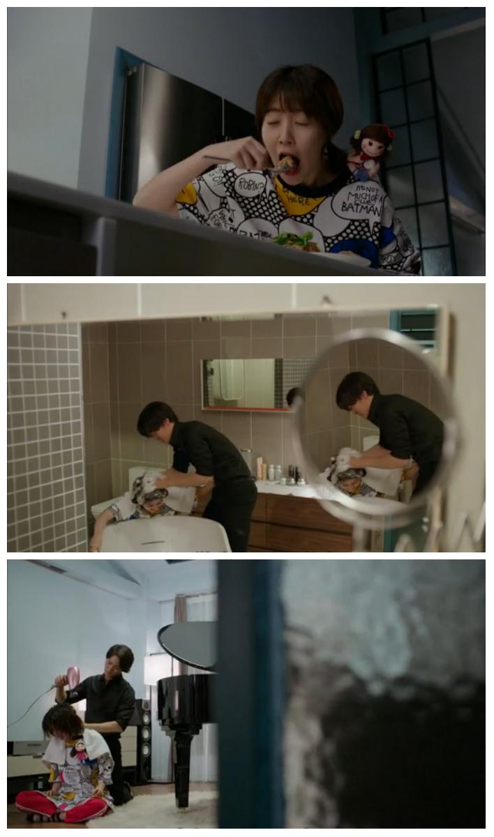 Nae Il is Yoo Jin's pet
