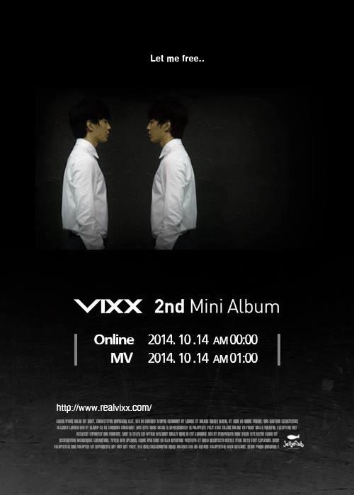 vixx 2nd mini album teaser pic