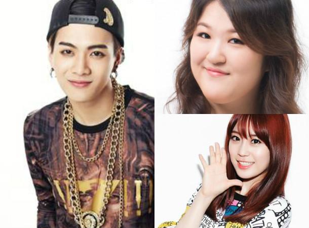 Jackson, Lee Gook Joo, Heo Youngji