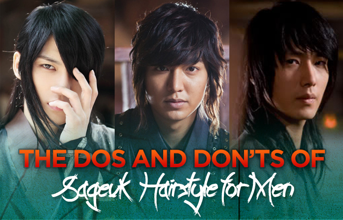 The DOs And DON'Ts Of Sageuk Hairstyle For Men
