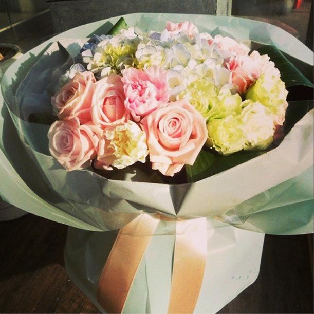 inkigayo bouquet