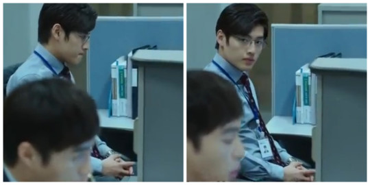 Jang Baek Ki unhappy at work - Misaeng