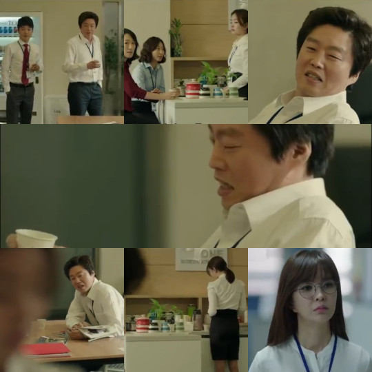 Mr Park sexual harassment - Misaeng