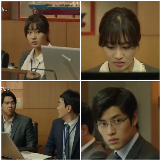 An Young Yi stands up to her boss - Misaeng