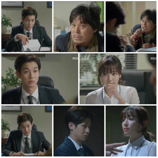 Jang Won and Gwang Mi interrogating the crazy water boiling guy - Pride and Prejudice