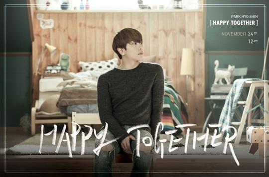 happy together park hyo shin