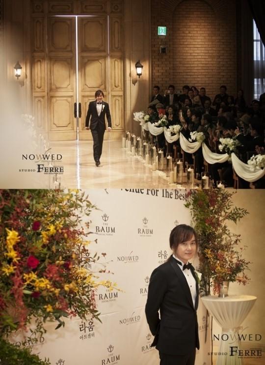 kim kyung ho wedding