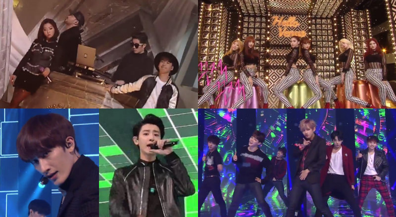 sbs soompi inkigayo nov 9 performances