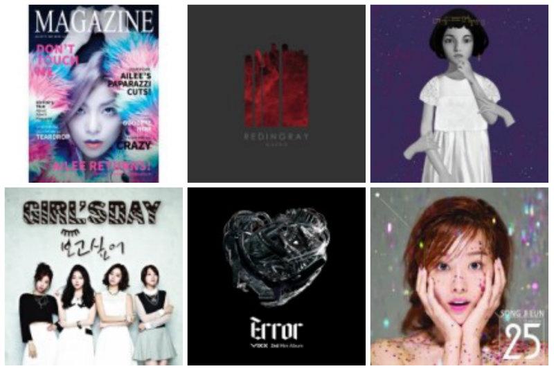soompi Weekly K-Pop Music Chart 2014 – November Week 1