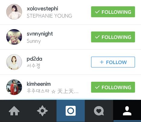 taeyeon instagram 2 cut