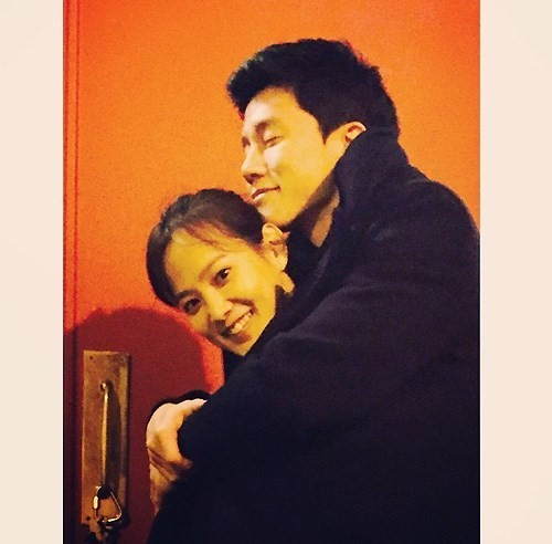 Yoon Seung Ah and Kim Moo Yeol