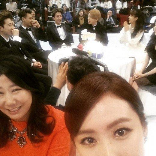 Hong Eun Hee + EXO