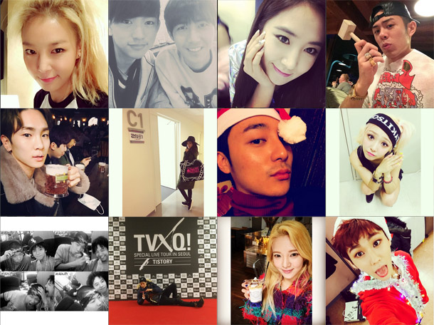 I Heart It: K-pop Instagram (December 7 – December 13)