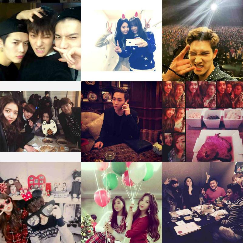 I Heart It: K-pop Instagram (December 21 – December 27)