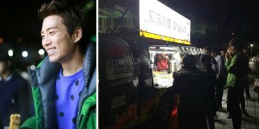 Joo Sang Wook snack truck