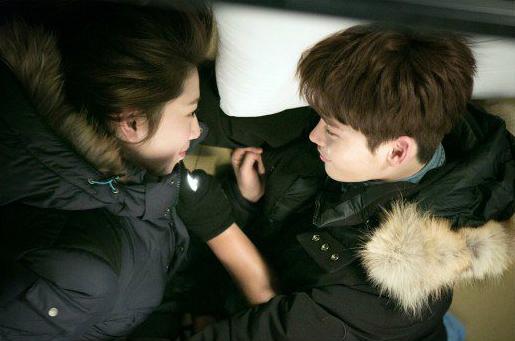 Lee Jong Suk and Park Shin Hye Pinnochio BTS