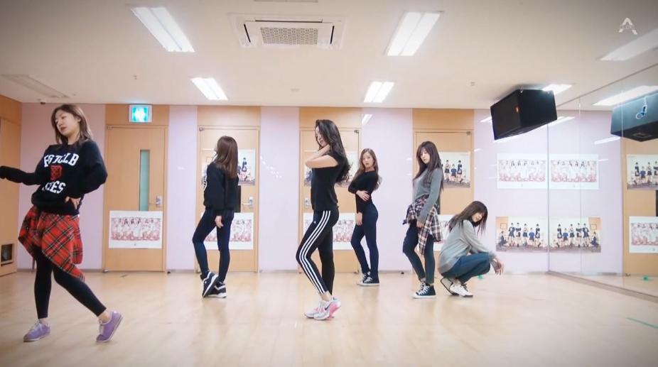 apink luv dance