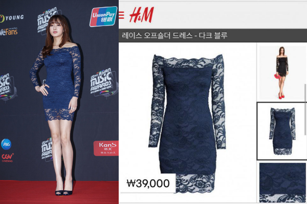 kang sora mama dress