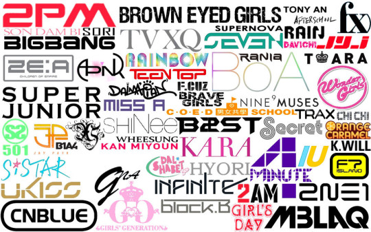 kpop-logos