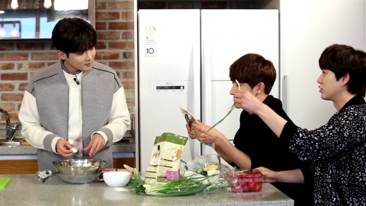 ryeowook cooking