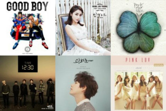 soompi  Weekly K-Pop Music Chart 2014 – December Week 2