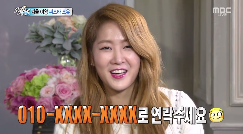 soyou section tv