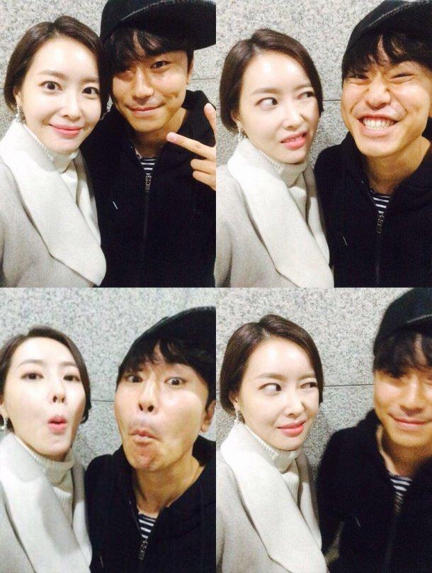 Lee Shi Eun and Wang Ji Hye