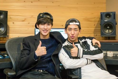 "Min Hyo Rin and B1A4's Jinyoung Sing a Duet Featuring Baro for ""Perseverance Goo Hae Ra"" OST"