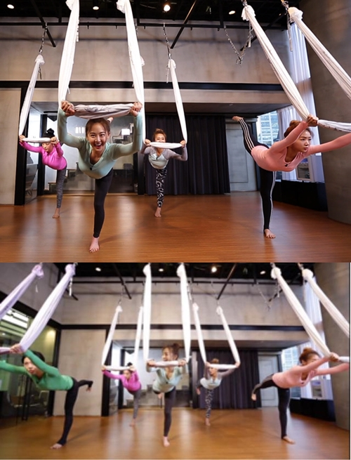 SISTAR Flying Yoga