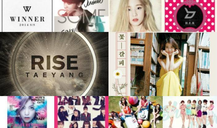 soompi music chart 2014 Top 50 songs