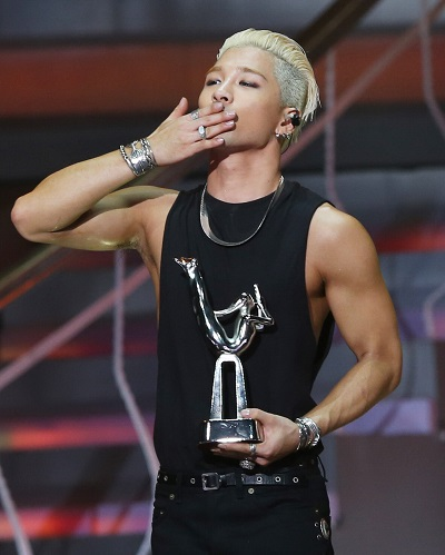 taeyang golden disk