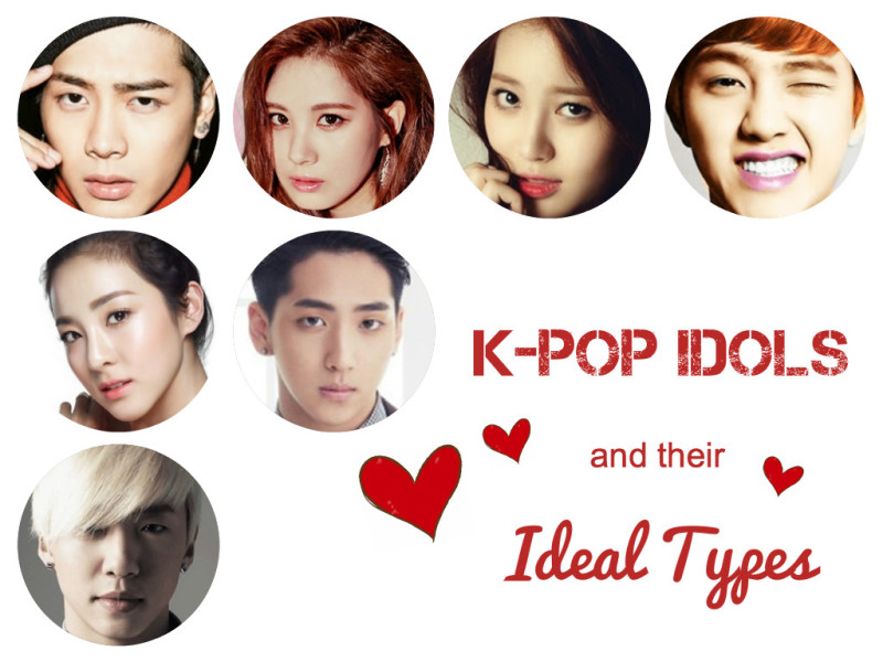 K-Pop Stars and Their Ideal Types