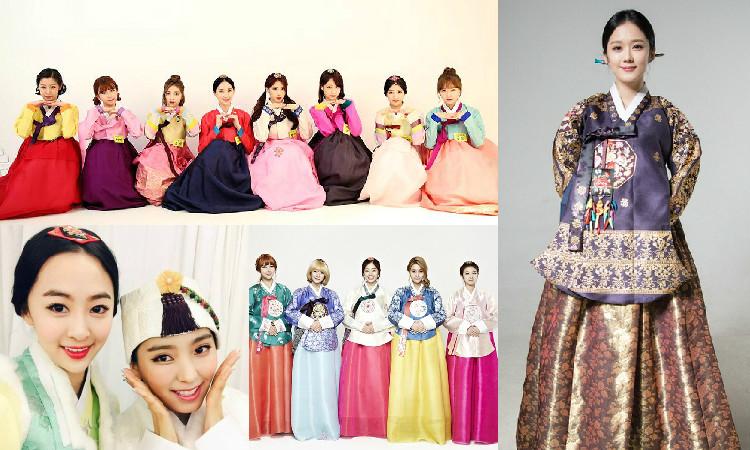 Korean Stars Give Their 2015 Lunar New Year Greetings in Hanboks
