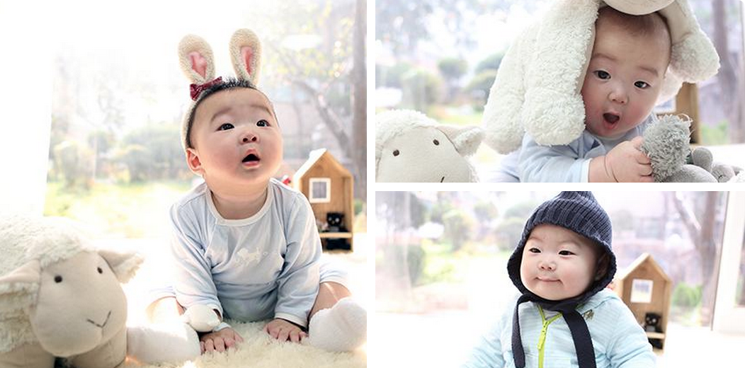 Song Il Gook Sends Lunar New Year Greeting with Adorable Pictures of Triplets