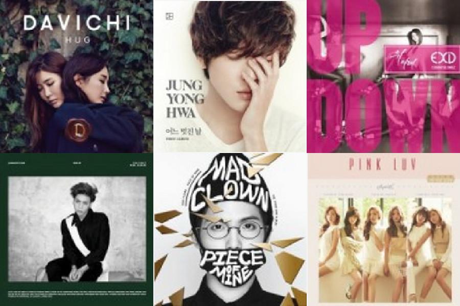 k-pop music chart feb wk 1