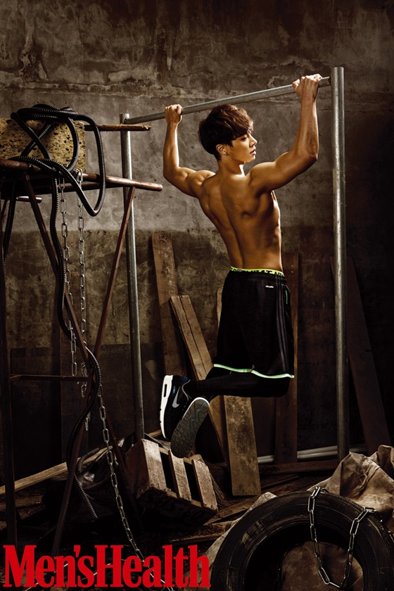Lee Gikwang Is Shirtless and Toned for Mens Health
