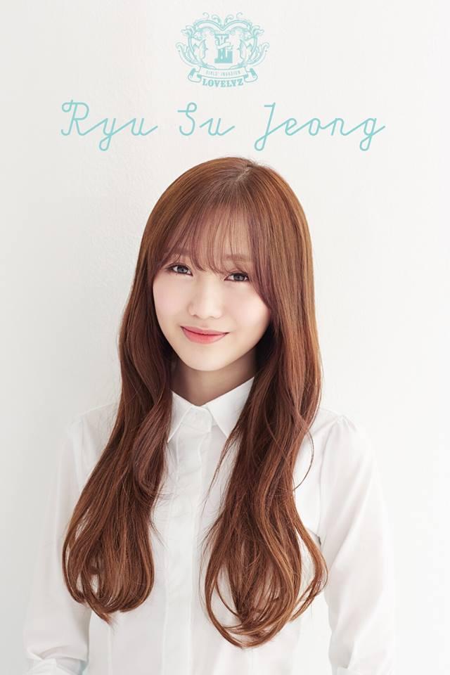 lovelyz ryu su jeong